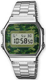 Casio Casio Collection LCD/Teräs 36.3x38.6 mm A168WEC-3EF