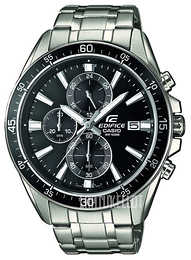 Casio Edifice Musta/Teräs Ø47 mm EFR-546D-1AVUEF