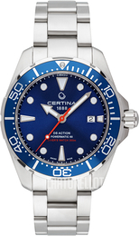 Certina DS Action Sininen/Teräs Ø43 mm C032.407.11.041.00