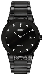 Citizen Axiom Musta Teräs Ø40 mm AU1065-58G 43dddd2f8f