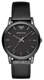 Emporio Armani Dress Musta/Nahka Ø41 mm AR1732
