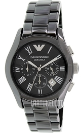 Emporio Armani Dress Musta/Keraaminen Ø42 mm AR1400