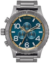 Nixon The 51-30 Sininen/Teräs Ø51 mm A0832789-00