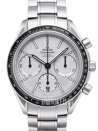 Omega Speedmaster Racing Co-Axial Chronograph 40mm Valkoinen/Teräs Ø40 mm 326.30.40.50.02.001