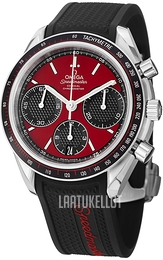 Omega Speedmaster Racing Co-Axial Chronograph 40mm Punainen/Teräs Ø40 mm 326.32.40.50.11.001