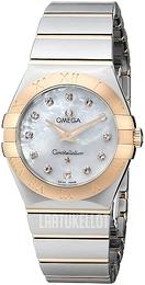 Omega Constellation Quartz 27mm Valkoinen 18K punakultaa Ø27 mm  123.20.27.60.55.001 4c7089fb30