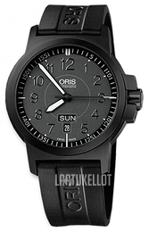 Oris Aviation Musta/Kumi Ø42 mm 01 735 7641 4764-07 4 22 05B