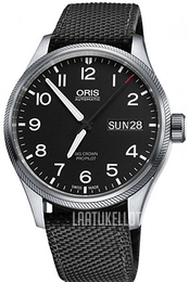 Oris Oris Aviation Musta/Tekstiili Ø45 mm 01 752 7698 4164-07 5 22 15FC