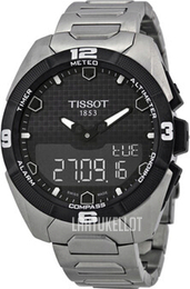 Tissot Touch Collection Musta/Titaani Ø45 mm T091.420.44.051.00