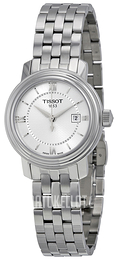 Tissot T-Lady Bridgeport Quartz Lady Hopea/Teräs Ø29 mm T097.010.11.038.00