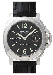 Panerai Contemporary Luminor Marina Automatic Musta/Nahka Ø44 mm PAM 104