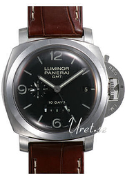 Panerai Contemporary Luminor 1950 10 Days GMT Musta/Nahka Ø44 mm PAM 270