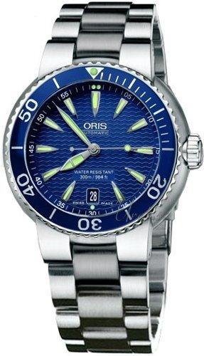 Oris Divers Date Sininen Teräs Ø44 mm ref. 733 7533 8555 MB 906a86f8a2
