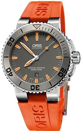 Oris Divers Harmaa Kumi Ø43 mm ref. 01 733 7653 4158-07 4 26 32EB dfe54f94f0
