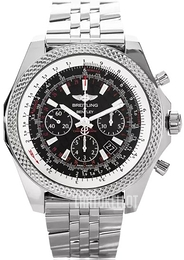 Breitling for Bentley B06 Musta/Teräs Ø49 mm AB061112-BD80-990A